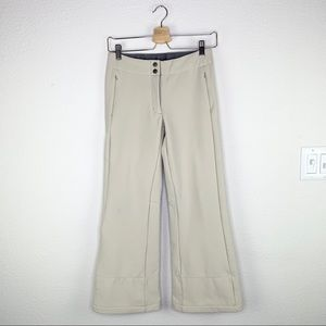 The North Face Ivory Wide Leg Snow Pants Sz XS